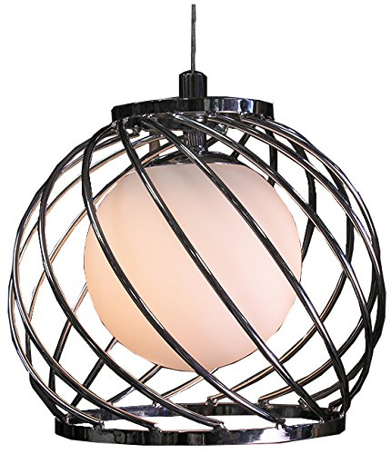 Whse of Tiffany RL1375/1 Trisha 1-Light Chandelier, 8