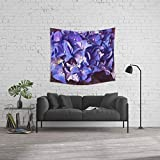 Society6 Wall Tapestry, Size Medium: 68'' x 80'', Ultra Violet Dance by captainsilva
