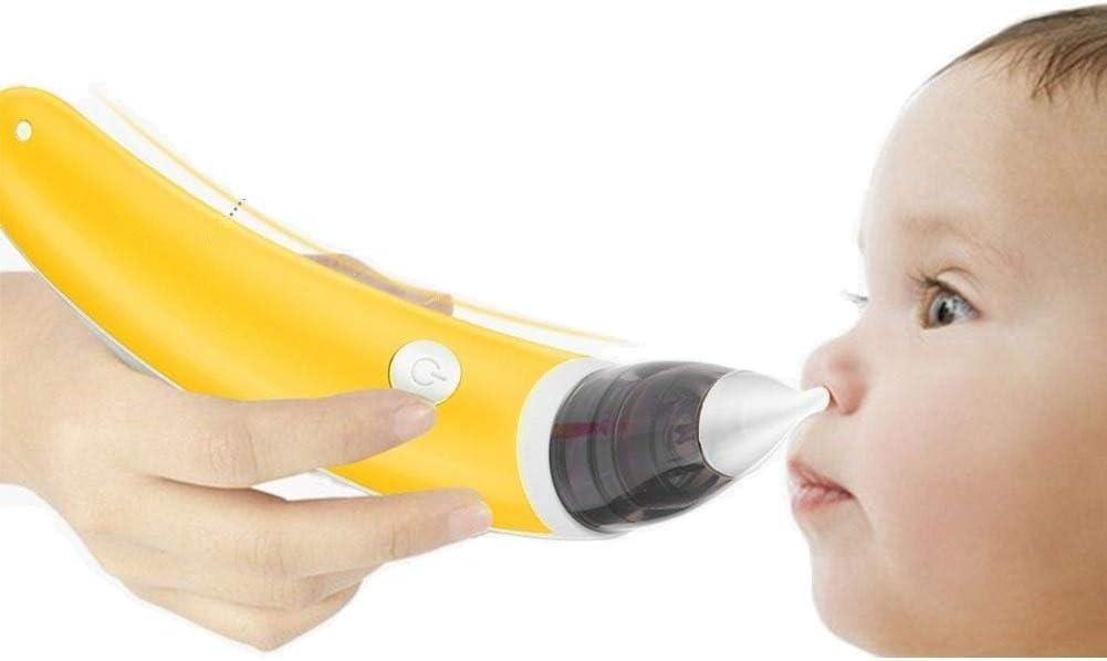 Aspirador nasal para bebés, aspirador de nariz elefétrico, seguro al vacío, succión nasal, aspirador de nudos, certificado CE: Amazon.es: Belleza