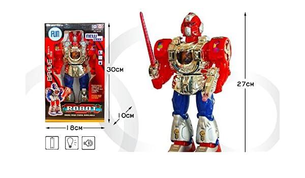 Planet Toys - Robot 861b andador con movimiento,usica y ...