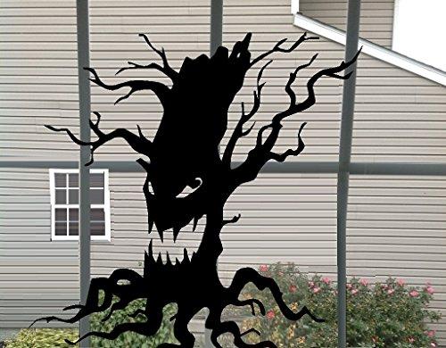 "SCARY TREE ~ HALLOWEEN: WALL OR WINDOW DECAL, 13"" X 13"""