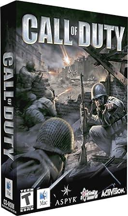 Amazon Com Call Of Duty Dvd Rom Mac Video Games