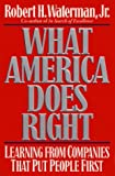 img - for What America Does Right book / textbook / text book