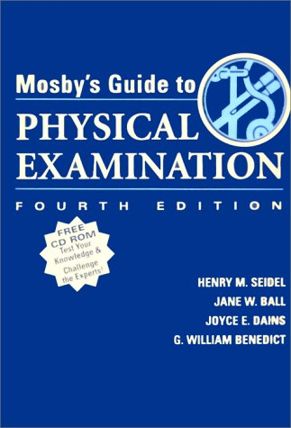 Mosby's Guide to Physical Examination (Book & CD-ROM)