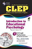 img - for by Webster Ph.D., Dr. Raymond E., Casey, Terry, CLEP, Psycholog CLEP Introduction to Educational Psychology w/ CD-ROM (CLEP Test Preparation) (2005) Paperback book / textbook / text book