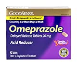 #4: GoodSense Omeprazole Delayed Release, Acid Reducer Tablets 20 mg, 42 Count