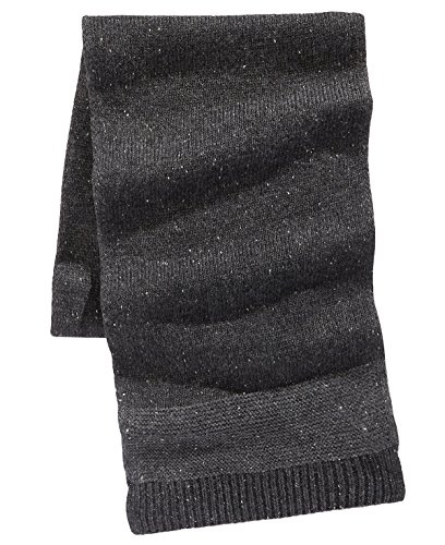 - Ryan Seacrest Distinction Men's Donegal Scarf (One Size, Charcoal Gray)