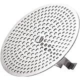 EXPAWLORER Hair Catcher Shower Drain - Stainless Steel Drain Hair Catcher Bathtub Strainer with Stand for Regular Drains