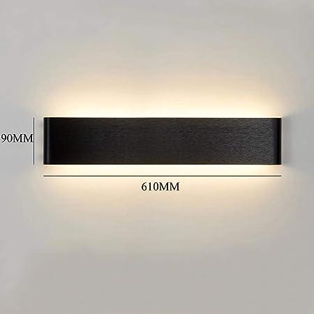 Lampara de pared LED con cambio de color 3 en 1 de Vingo®, diseño moderno llamativo, consumo moderado de energía, uso versátil: Amazon.es: Hogar