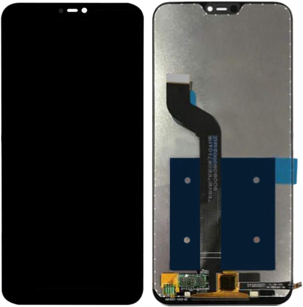 Color : Black Black LIYUNSHU LCD Screen and Digitizer Full Assembly for Xiaomi Redmi 6 Pro Mi A2 Lite