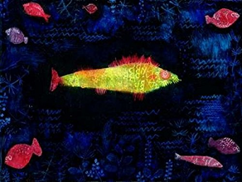 The Goldfish Poster Print by Paul Klee (11 x 14)
