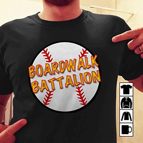 Brooklyn Baseball Banter Boardwalk Battalion T Shirt Long Sleeve Sweatshirt Hoodie Youth ()