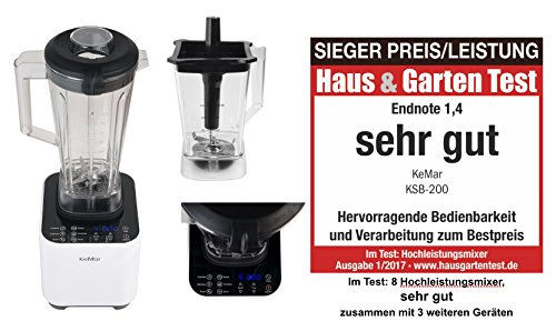Reviewmeta Com Warn Kemar Ksb 200 Hochleistungsmixer Fur Smoothies