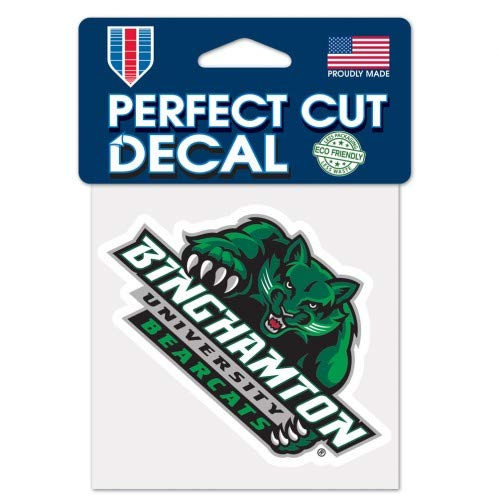 Binghamton University Bearcats Perfect Cut Die Cut Decal - 4