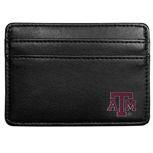 Siskiyou NCAA Texas A&M Aggies Weekend Wallet, Black