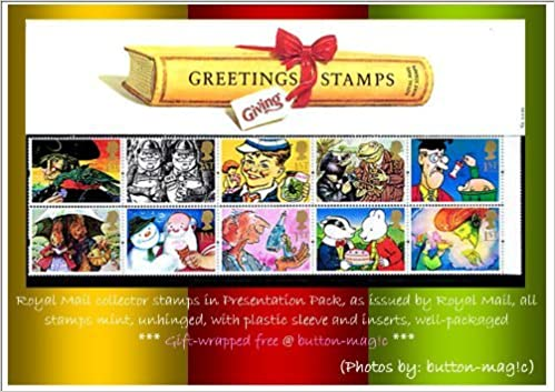 Greetings stamps giving 1993 presentation pack no g2 royal mail greetings stamps giving 1993 presentation pack no g2 royal mail mint british collector stamps mnh no of stamps 10 1st class stamps amazon m4hsunfo