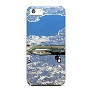 Iphone 5c Case, Premium Protective Case With Awesome Look - F 35 Lightning Ii Joint Strike Fighter
