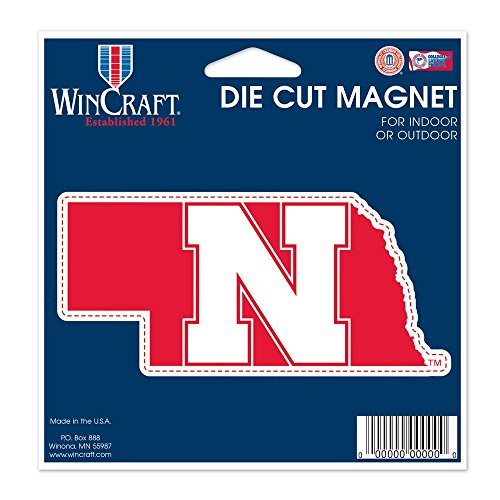 sity of Nebraska Die Cut Magnet, 4.5