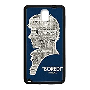 Sherlock on Pinterest Phone Case for Samsung Galaxy Note3 by icecream design