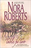 Table for Two, Nora Roberts, 0373218400