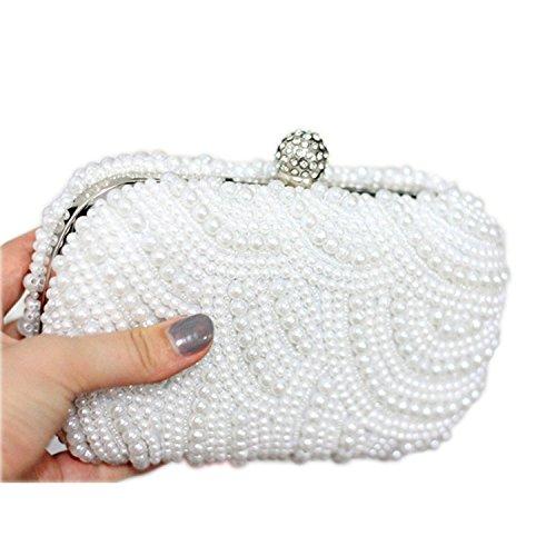 Sac Elégant Mariage Soirée Perle 3 Heyjewels Multi blanc Style style Multicolore HSFdqT