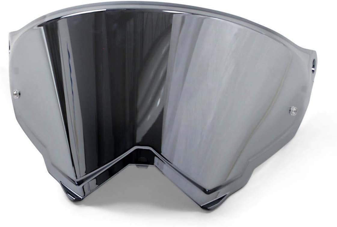 Agv Ax 9 Replacement Shield Iridium Silver