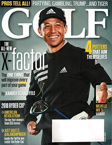 Golf Magazine October 2018 | Xander Schauffele – X-Factor