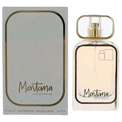Montana 80s Eau de Parfum Spray for Women, 3.3 Ounce