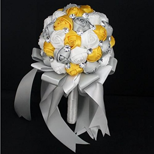 Advanced Customization High Quality Romantic Handmade Bride Holding Flower, Western Style Elegant Wedding Bouquet,simple and Elegant of the Appearance(hand Made)