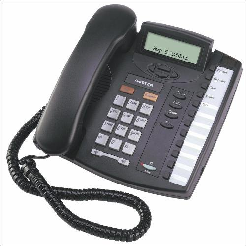 Aastra Analog Phones - Aastra 9116 Corded Telephone Charcoal