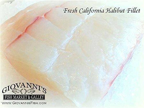 California Halibut Fillets (4 Pounds)