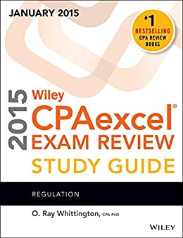 Wiley CPAexcel Exam Review 2015 Study Guide (January): Regulation (Wiley Cpa Exam Review) (Low price limited period offer valid till 28th March 2015)
