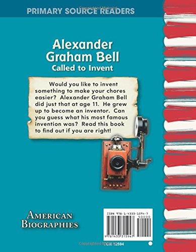 Alexander Graham Bell American Biographies : Called to Invent American Biographies Primary Source Readers: Amazon.es: Jennifer Kroll: Libros en idiomas ...