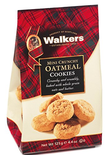- Walkers Shortbread Mini Crunchy Oatmeal, 4.4 oz. (Pack of 6)