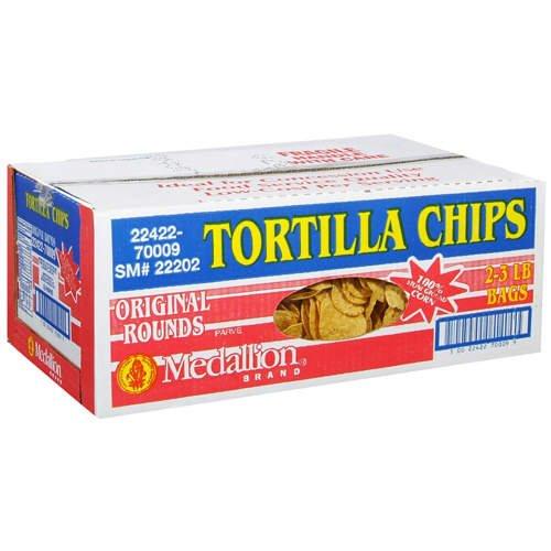 - Medallion Tortilla Chips, 6 Pound