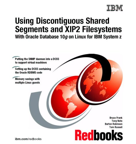 Using Discontiguous Shared Segments And Xip2 Filesystems With Oracle Database 10g on Linux for IBM System Z (System Ibm Z)