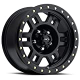 17X8.5 5X5.5 4.7BS MANX 398 MATTE BLACK - VISION WHEEL