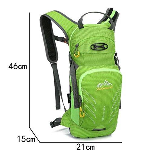 TaoMi- Mochila al aire libre - multi-propósito de viaje de bicicletas bolsa de viaje bolsa de hombres y mujeres al aire libre mochila impermeable bolso de escalada ( Color : Azul , Tamaño : 20L ) Purple