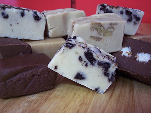 (Lang's Chocolates Fudge 1.5lbs (24oz) Kosher Peanut Butter and Chocolate Fudge)
