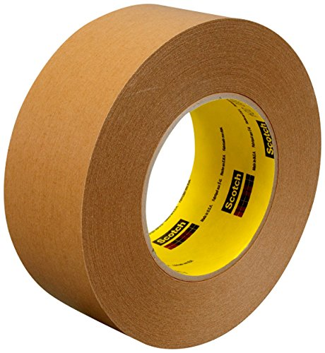 (3M 17597-case Repulpable Strong Single Coated Tape R3187, 48 mm x 55 m, White (Pack of 24))