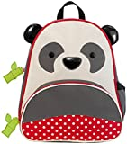 Skip Hop Zoo Toddler Kids Insulated Backpack Pia Panda Boy, 12-inches, Multicolored