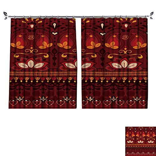 Window Envelope Antimicrobial (DESPKON UV-Proof Polyester Material Tribal Seamless Pattern use Cloth,Jackets,Bags,notebooks,Cards,envelopes,Pads,Blankets Floor Curtains W72 x L45)
