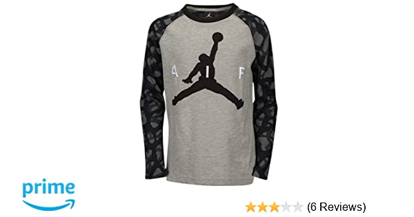17507150d43 Amazon.com : Jordan AJ 23 Jumbo Ele Long Sleeve Top : Sports & Outdoors