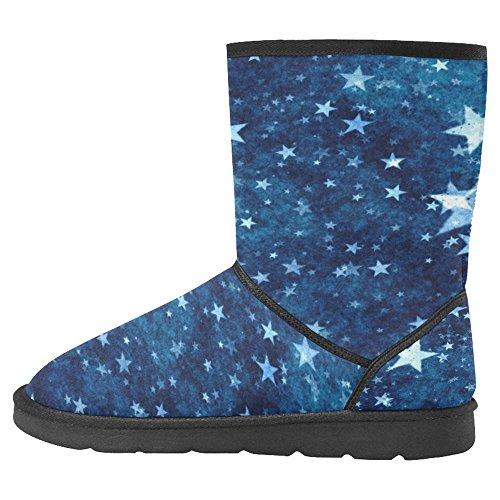 InterestPrint Womens Snow Boots Unique Designed Comfort Winter Boots Multi 16 74Fdo3BM