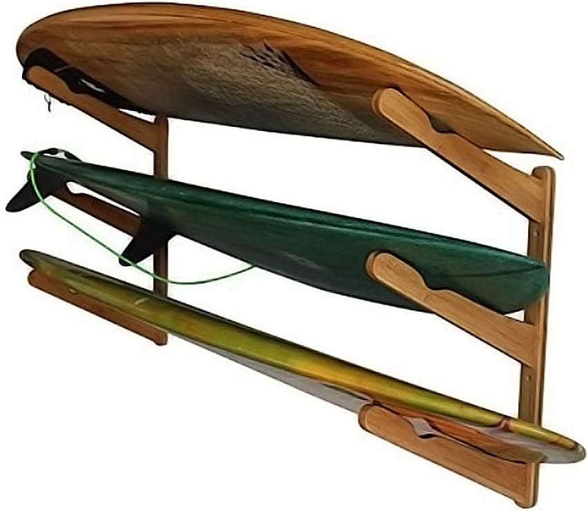 COR Wooden Surfboard Wall Mount