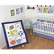 Sumersault Crib Bedding Set 10 piece Super Star