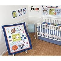Sumersault Crib Bedding Set 10 piece Super Star