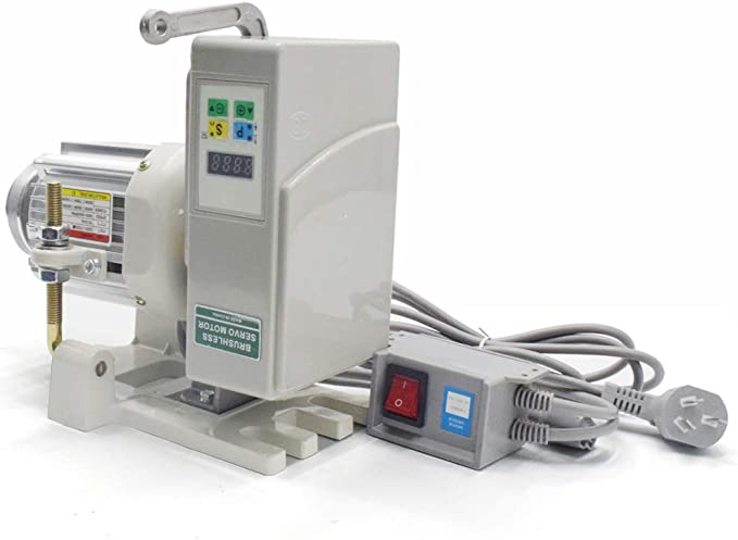 Bürstenloser Servomotor Nähmaschine Nadelpositionierer 550W 110V bis 4500U //min