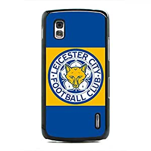 New DIY Leicester City FC Logo Hard Plastic Phone Case Cover-Durable Case Skin Fits Google Nexus 4 Pertectly