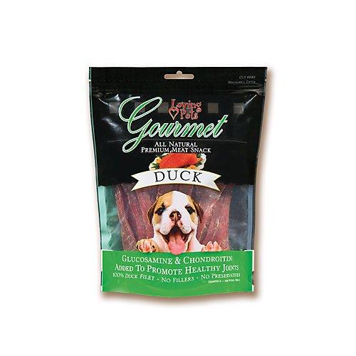 Loving Pet Gourmet Duck Strips Bag 6oz